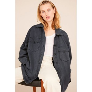 Tita Padded Denim Jacket Carbon