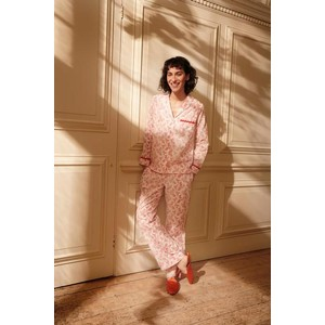 Yolke Country Vine Classic PJ Set Rose