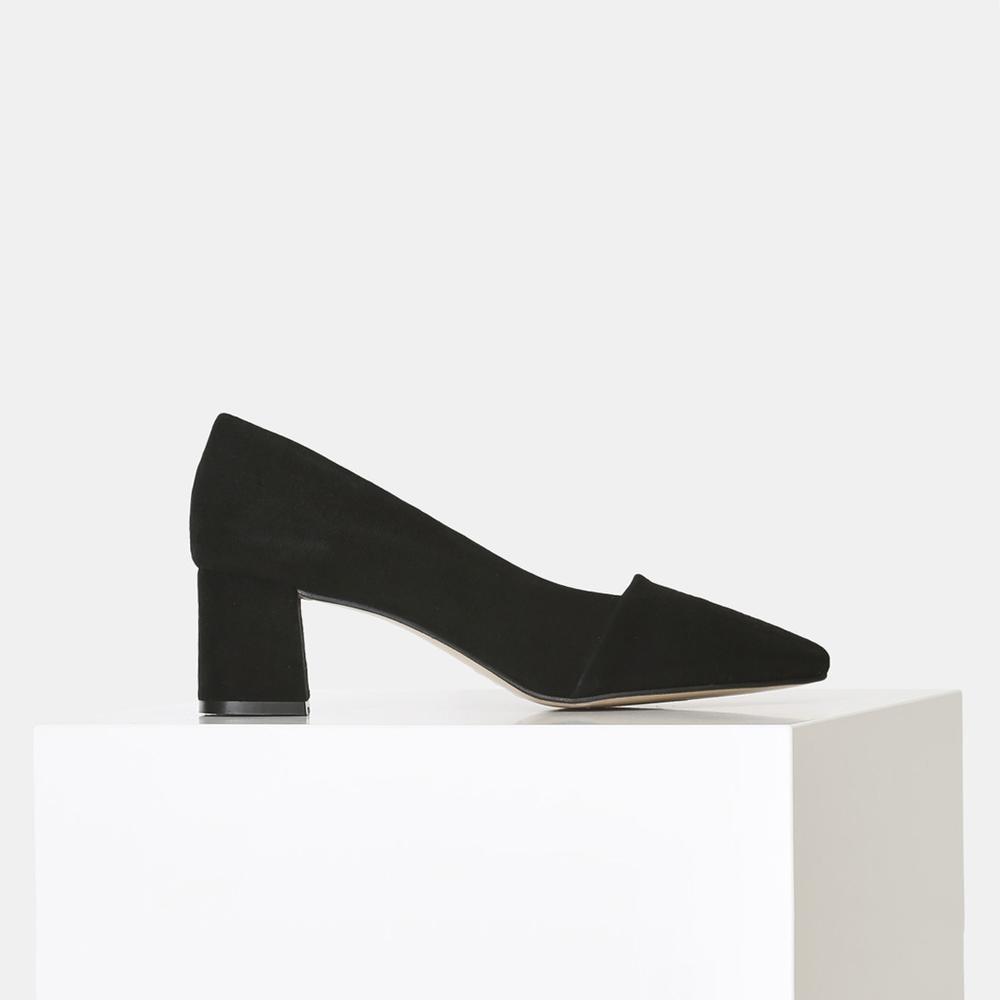 Shoe The Bear Allison Pointed Low Heel Shoe Black