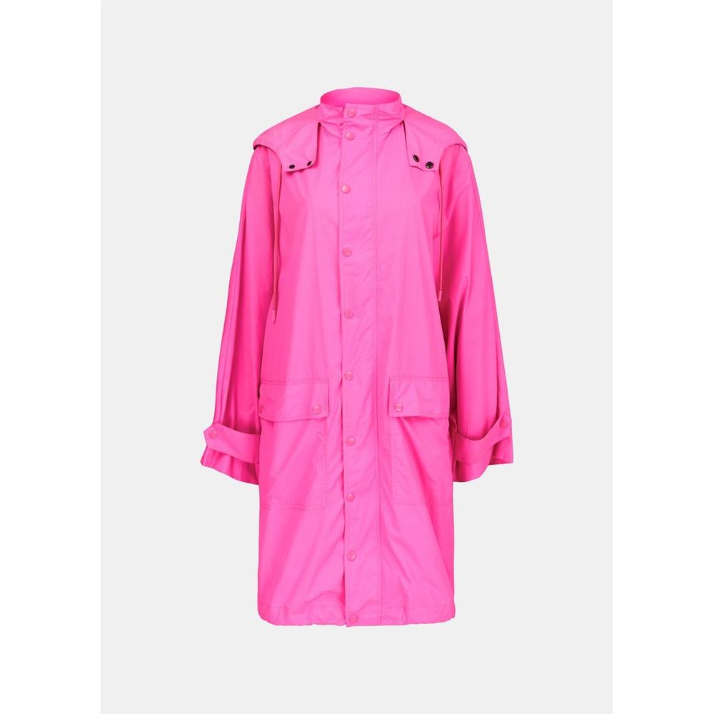 Essentiel Antwerp Vormidable O/Sized Rain Coat Hardcore Pink