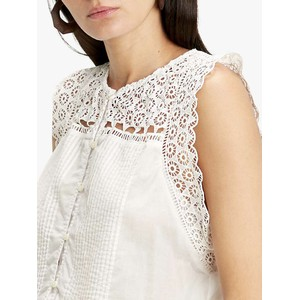 Levis Charlie Cloud Dancer Top Beige