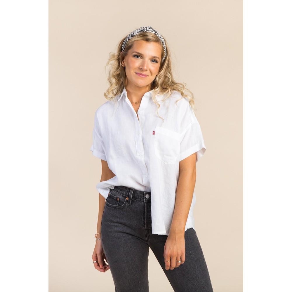 Levis The S/S Alexandra Shirt White