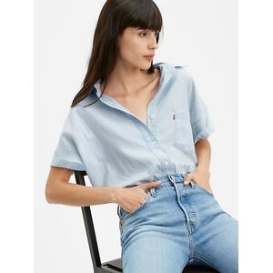 The S/S Alexandra Shirt Mid Wash