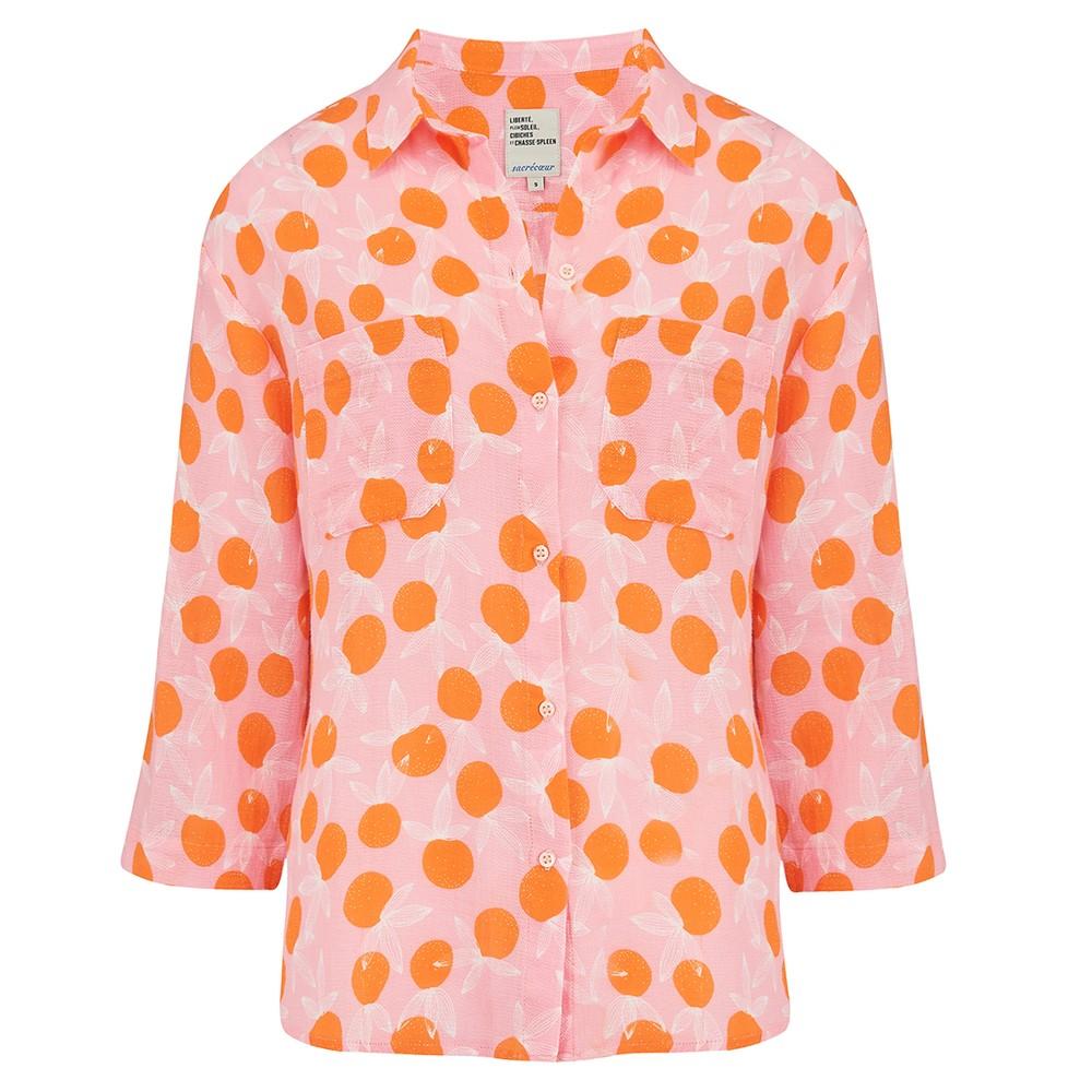 Sacrecoeur Simone Citrus Shirt Pink/Orange