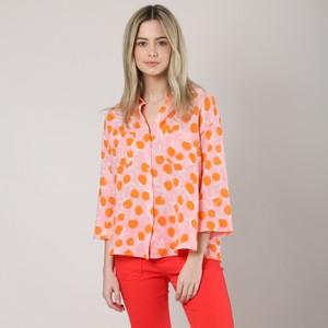 Simone Citrus Shirt Pink/Orange