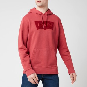 Graphic PO Hoodie Earth Red