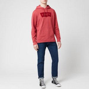 Levis Graphic PO Hoodie Earth Red