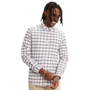 Sunset 1 Pkt Plaid Slim Shirt Antonio Skyway