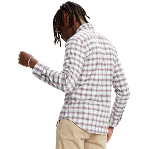 Levis Sunset 1 Pkt Plaid Slim Shirt Antonio Skyway