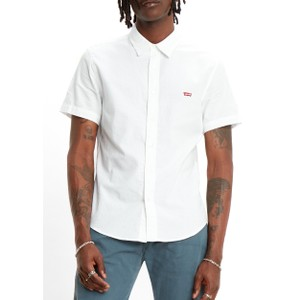 S/S Battery HM Slim Shirt White