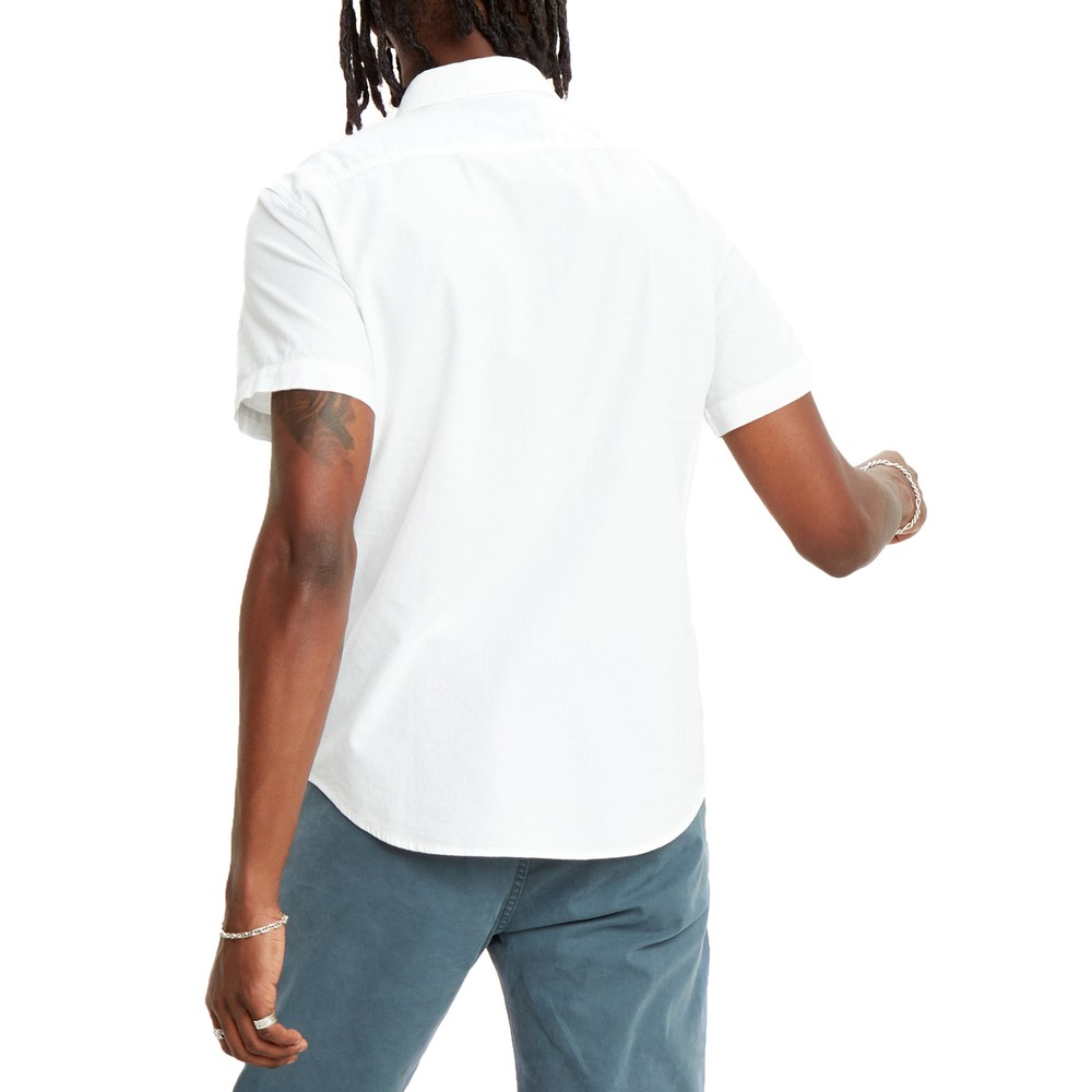 Levis S/S Battery HM Slim Shirt White