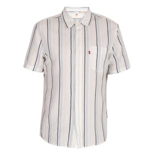 S/S Classic 1Pk Stripe Shirt Alton/Cloud