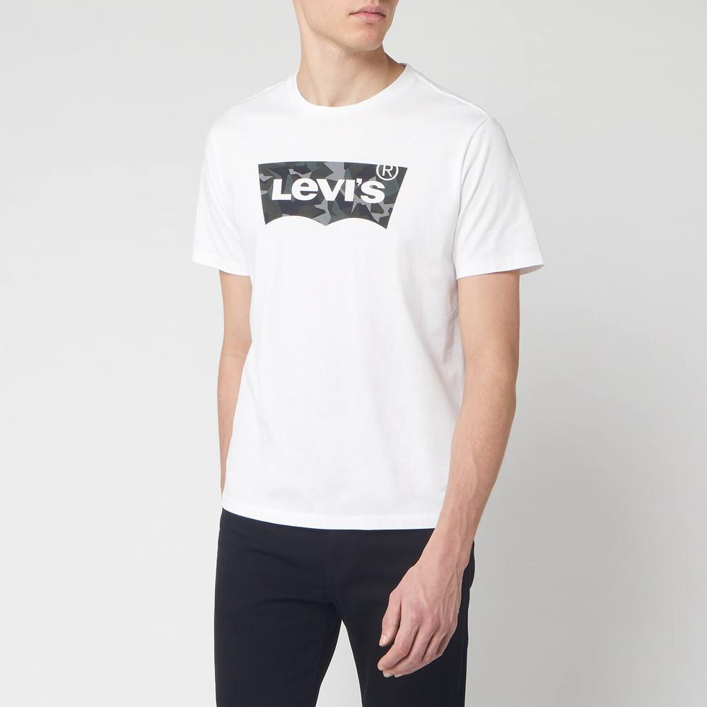 Levis Housemark Graphic Tee Camo/White