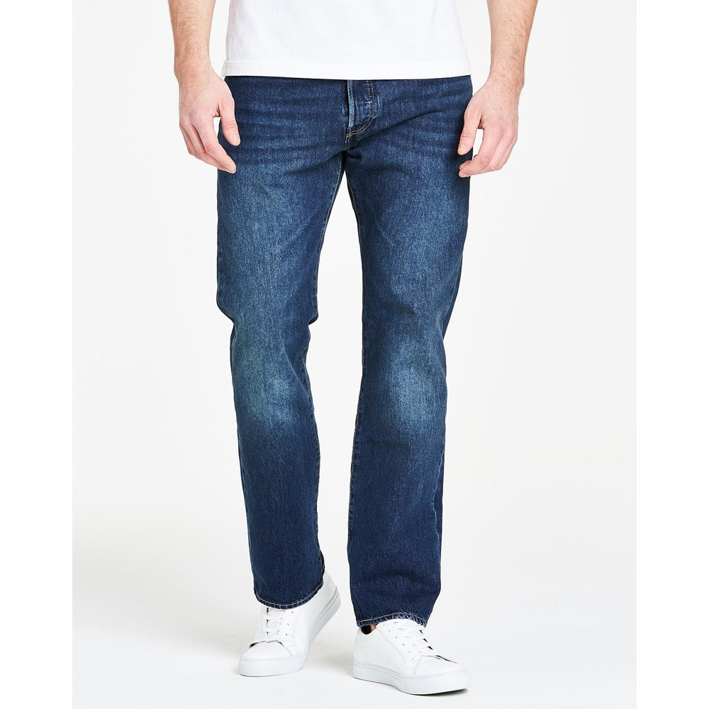 Levis 501 Original Fit 34in Leg Sponge St