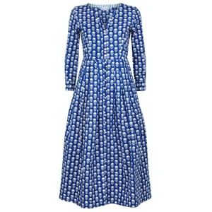 Olivia Shirt Dress Indigo Meadow