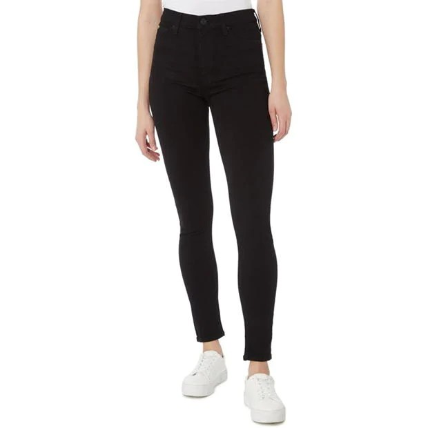 Hudson Barbara Super Skinny High Waist Black
