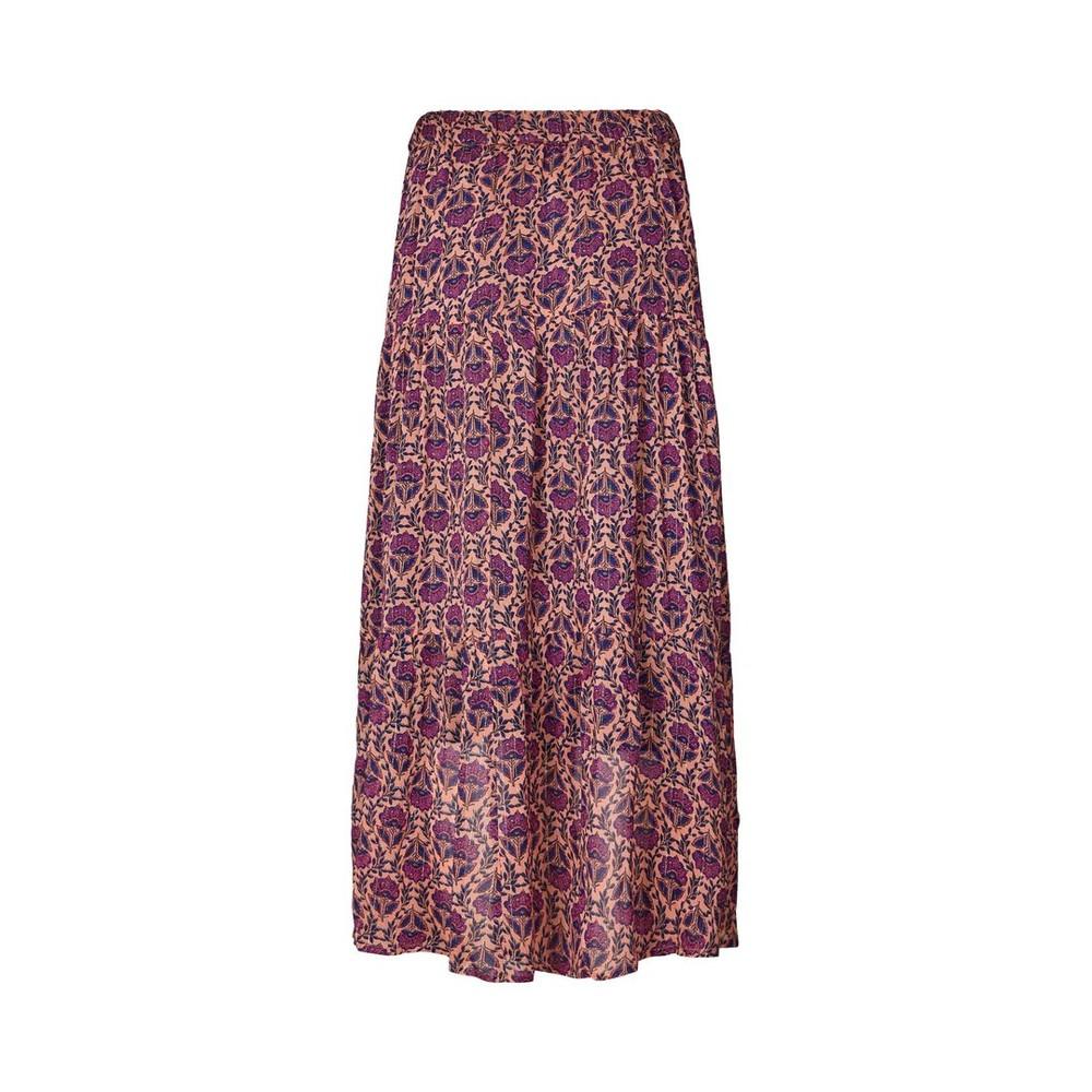 Lollys Laundry Bonny Floral/Lurex Skirt Purple/Multi