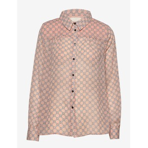 Molly Chain Print Shirt Dusty Rose