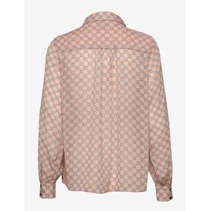 Lollys Laundry Molly Chain Print Shirt Dusty Rose