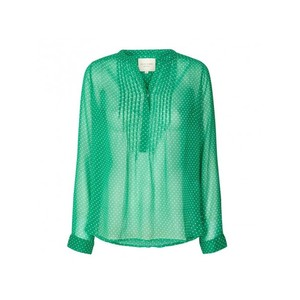 Lollys Laundry Helena Shirt Green