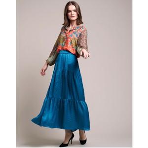 Bonny Maxi Skirt Petrol