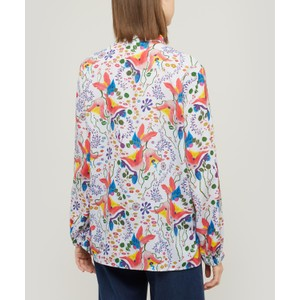 Paul Smith Womens Earthling Print Shirt Multi
