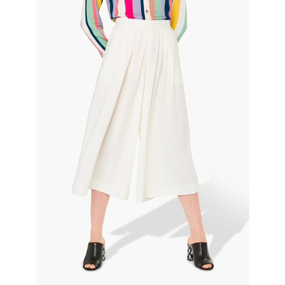 Paul Smith Womens Wide Leg Culottes Cream