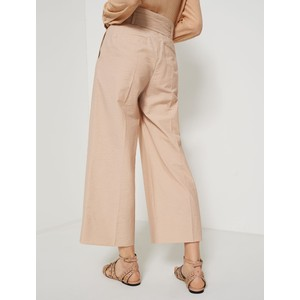 Marella Finanza Wide Leg Trouser Beige