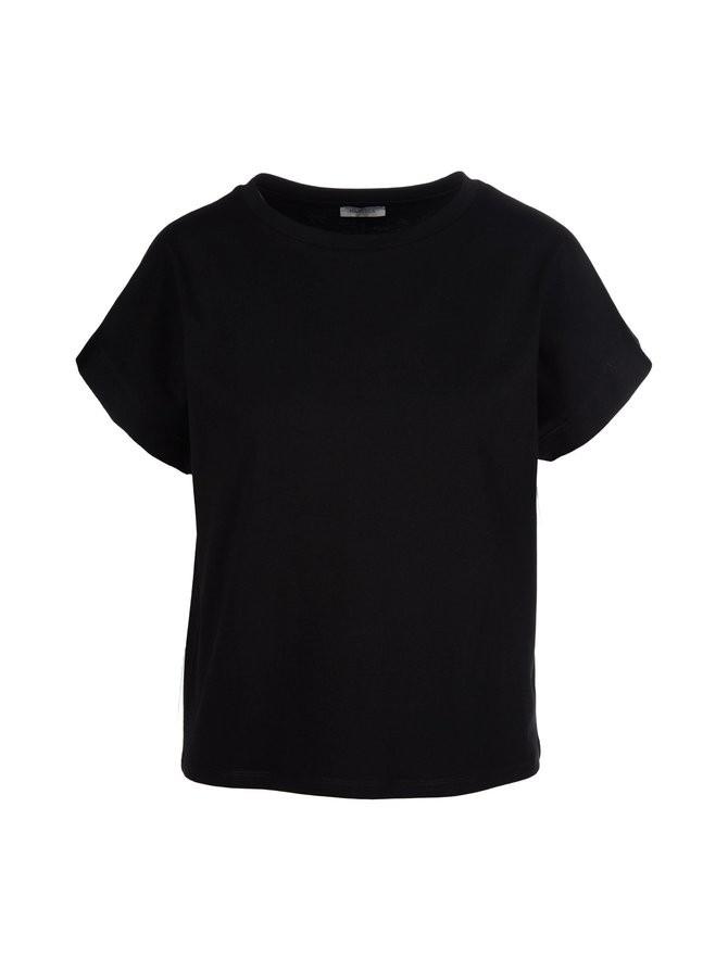 Marella Tundra Boxy T Shirt Black