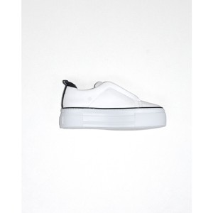 Piuma Stretch Front Flatform White