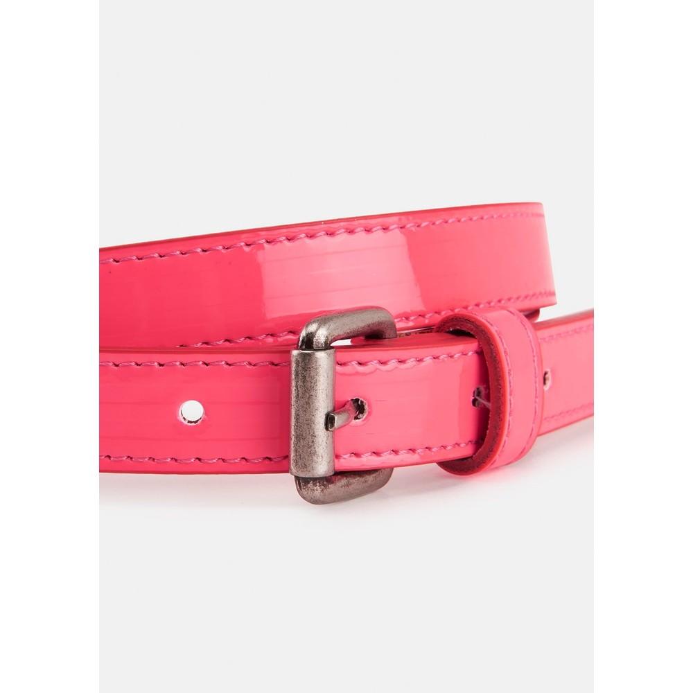 Essentiel Antwerp Velora Patent Belt Neon Pink