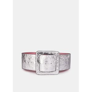 Essentiel Antwerp Vestoban Wide Belt Silver