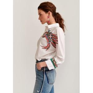 Essentiel Antwerp Vembo Vintage Emb Shirt White/Multi