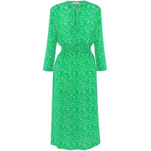 Tiffany Tiger Print Dress Green