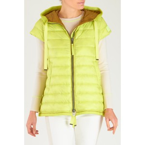 Thinsulate Gilet with Hood Acid Green