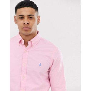 Polo Ralph Lauren L/S Slim Fit Sports Shirt Taylor Rose
