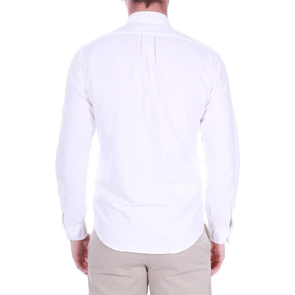 Polo Ralph Lauren L/S Slim Fit Sports Shirt White
