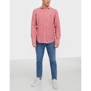 Polo Ralph Lauren L/S Linen Chambray Shirt Salmon