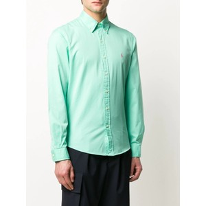 Long Sleeve Sport Shirt Soft Jade
