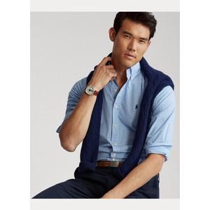 Polo Ralph Lauren L/S Gingham Sports Shirt Blue/White