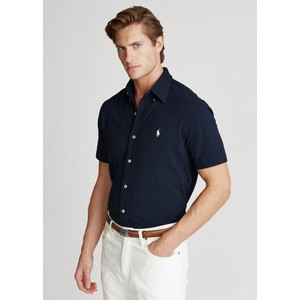 S/S Featherweight Mesh Polo Aviator Navy