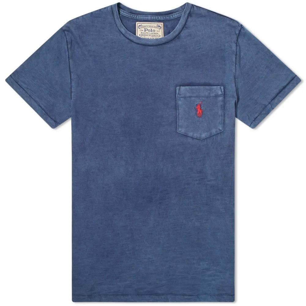 Polo Ralph Lauren S/S Logo Pocket Tee Cruise Navy
