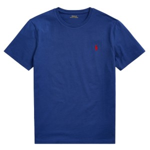 Polo Ralph Lauren SS Logo Tee Custom Slim Fit in Holiday Sapphire
