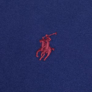 Polo Ralph Lauren SS Logo Tee Custom Slim Fit Holiday Sapphire
