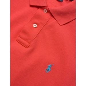 Polo Ralph Lauren S/S Logo Polo-Slim Fit Racing Red