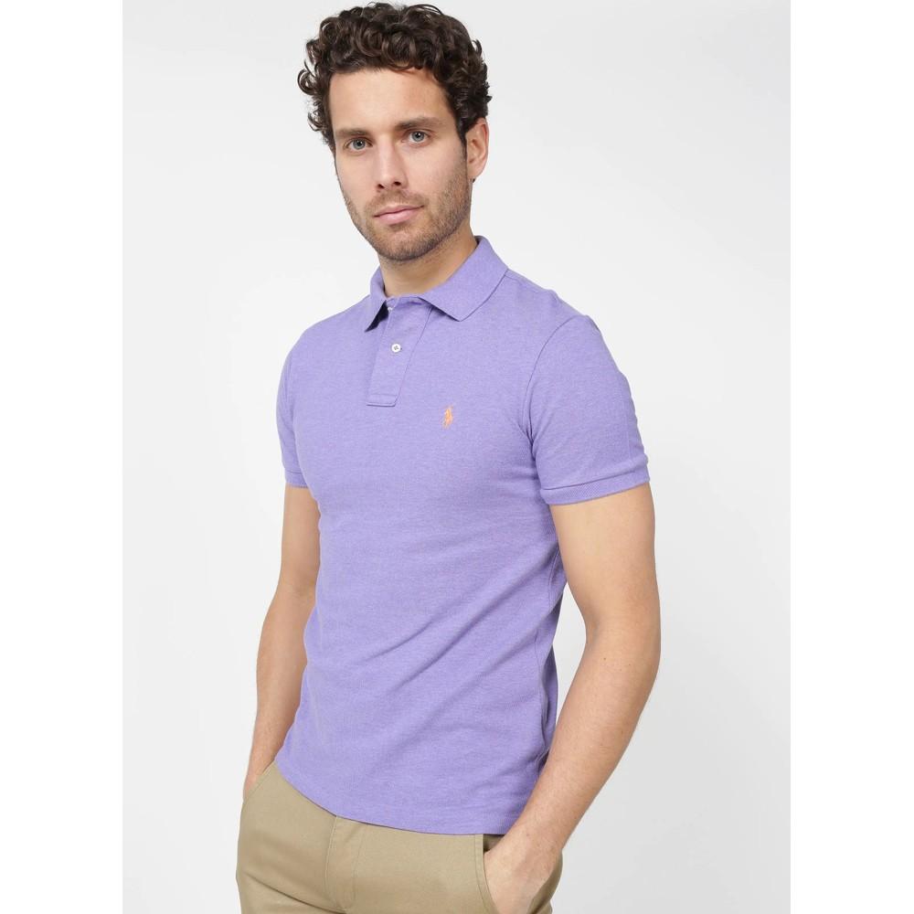 Polo Ralph Lauren S/S Logo Polo-Slim Fit Maidstone Purple Heather