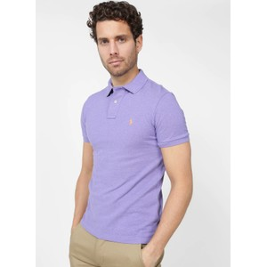 S/S Logo Polo-Slim Fit Maidstone Purple Heather