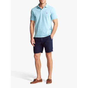 Polo Ralph Lauren S/S Logo Polo-Slim Fit Watchhill Blue Heather