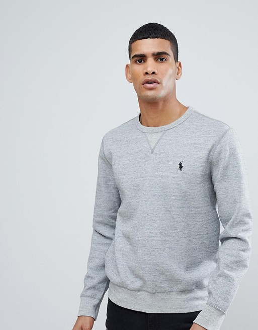 Polo Ralph Lauren Classic Logo Sweatshirt Grey Heather