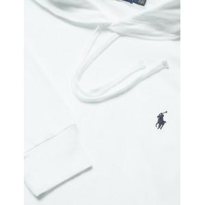 Polo Ralph Lauren L/S Hooded Mesh Top White